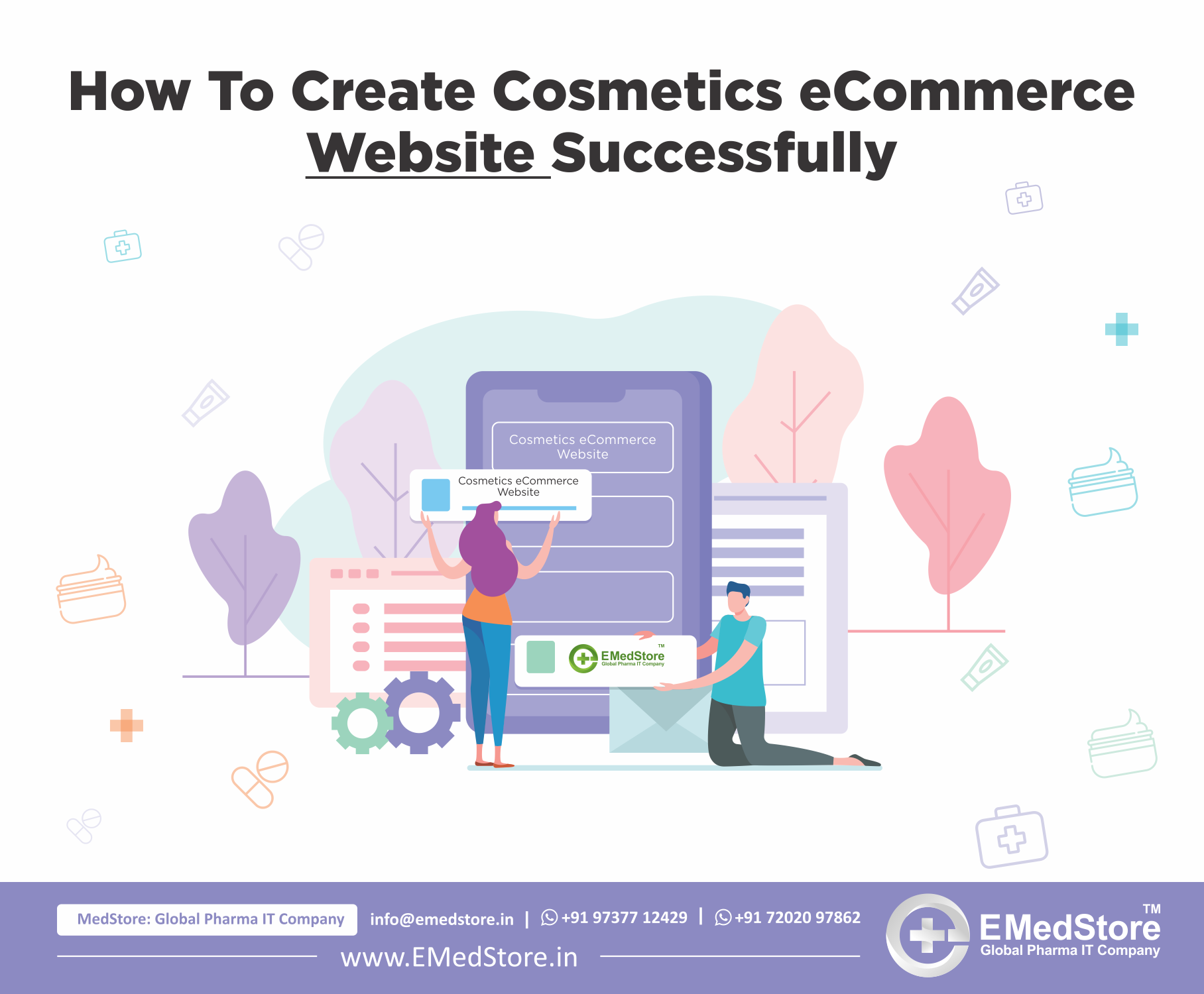 How To Create Cosmetics eCommerce Website Successfully
