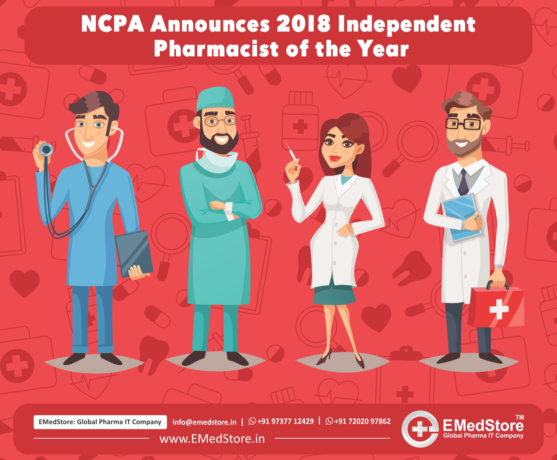 NCPA Announces 2018 Independent Pharmacist of the Year